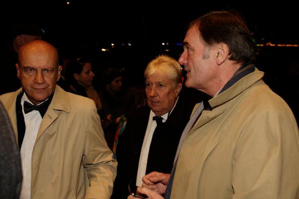 2013 Autosport Awards. Grosvenor House Hotel, Park Lane, London. Sunday 1st December 2013. Herbie Blash and Dick Bennetts.  World Copyright: Sam Bloxham/LAT Photographic. ref: Digital Image _LOX6205