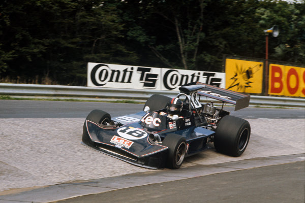 1973 German Grand Prix.  Nurburgring, Germany. 3-5th August 1973.  David Purley, March 731 Ford.  Ref: 73GER64. World Copyright: LAT Photographic