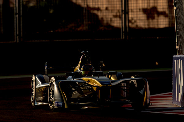 2016/2017 FIA Formula E Championship. Marrakesh ePrix, Circuit International Automobile Moulay El Hassan, Marrakesh, Morocco. Saturday 12 November 2016. Ma Qing Hau (CHN), Techeetah, Spark-Renault, Renault Z.E 16. Photo: Zak Mauger/LAT/Formula E ref: Digital Image _L0U6333