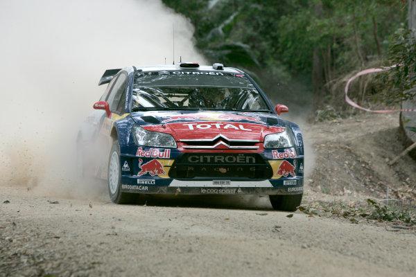 Round 10Rally Australia 3rd-6th September  2009Sebastien Loeb, Citroen, WRC, Action.Worldwide Copyright: McKlein/LAT