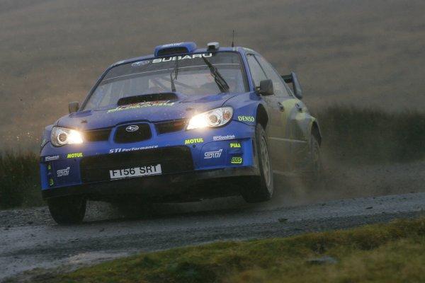 2007 World Rally Championship,Wales Rally GB, 30th November - 2nd December 2007,Petter Solberg, Subaru, ActionWorld Copyright: McKlein/LAT Photographic