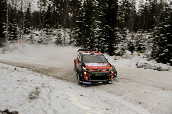 2017 FIA World Rally Championship, Round 02, Rally Sweden, February 09-12, 2017, Kris Meeke, Citroen, Action Worldwide Copyright: McKlein/LAT