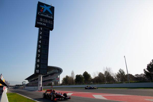 Circuit de Barcelona Catalunya, Barcelona, Spain. Tuesday 14 March 2017. Johnny Cecotto (VEN, Rapax). Action.  Photo: Alastair Staley/FIA Formula 2 ref: Digital Image 580A0687
