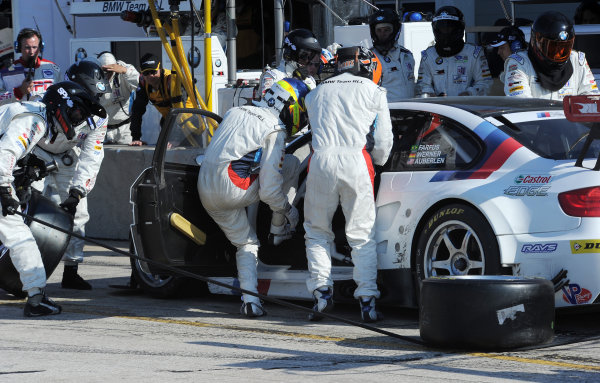 14-19 March 2011. Sebring, Florida USA#55 BMW Motorsport BMW M3 GT©2011 Dan R. Boyd LAT Photo USA