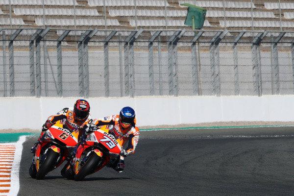 Alex Marquez, Repsol Honda Team Stefan Bradl.