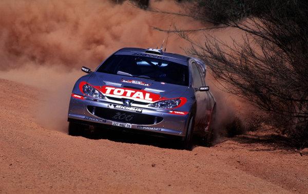 2001 World Rally ChampionshipRally Australia, WRC. 1st - 4th NovemberWorld Copyright - McKlein / LAT PhotographicRef: 35mm Image A14