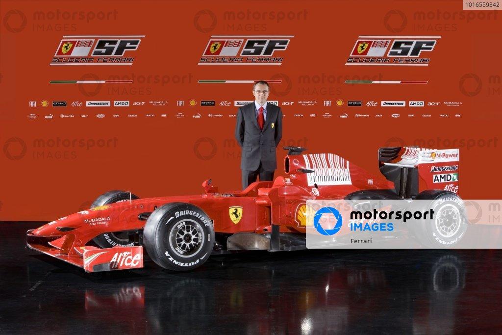 Ferrari F60 Team Presentation