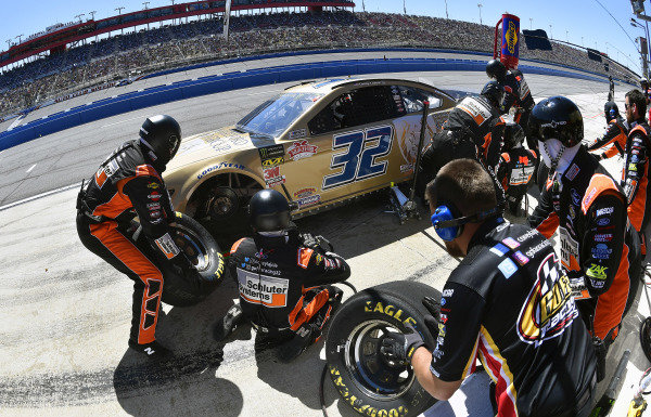 #32: Corey LaJoie, Go FAS Racing, Ford Mustang Hartford Gold Group