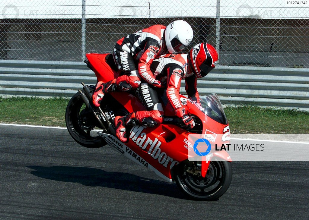 2001 Motorbike 500cc Chapionship