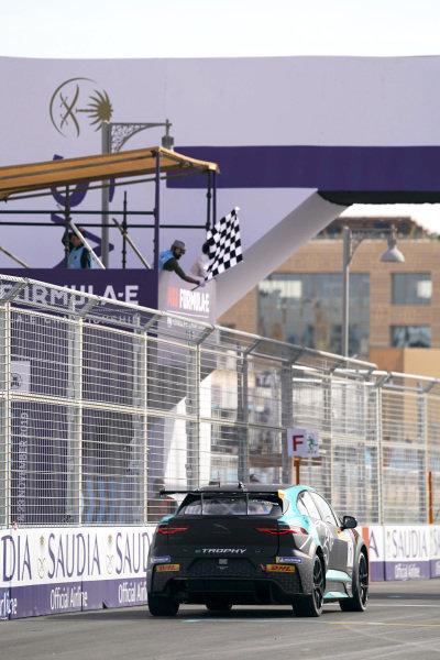 Reema Juffali (SAU), Jaguar VIP car takes the chequered flag