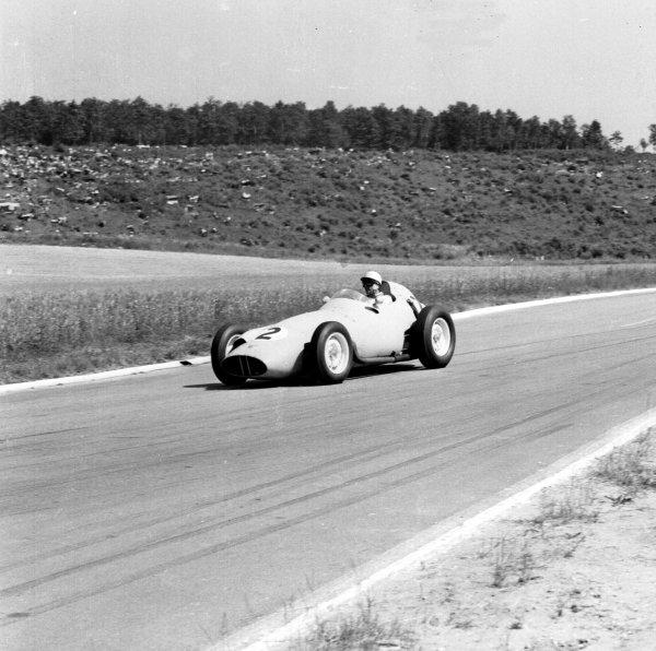 1959 French Grand Prix.Reims, France.3-5 July 1959.Jo Bonnier (BRM P25).Ref-4403.World Copyright - LAT Photographic