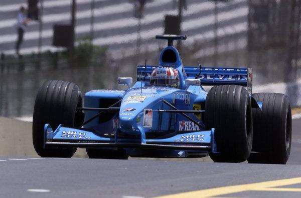 2000 Brazilian Grand Prix.Interlagos, Sao Paulo, Brazil.24-26 March 2000.Alexander Wurz (Benetton B200 Playlife).World Copyright - Steve Etherington/LAT Photographic