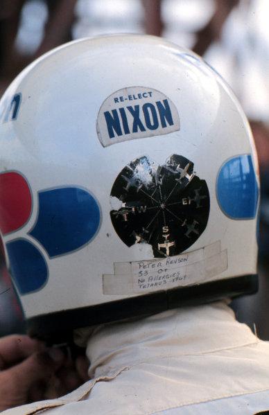 1972 Formula 1 World Championship.Pete Revson (McLaren-Ford Cosworth).Ref-R4A 05.World - LAT Photographic
