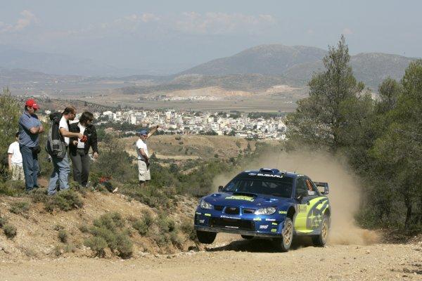 2007 FIA World Rally ChampionshipRound 8Acropolis Rally Greece31 May-3 Jun 2007Chris Atkinson, Subaru , Action.Worldwide Copyright: McKlein/LAT