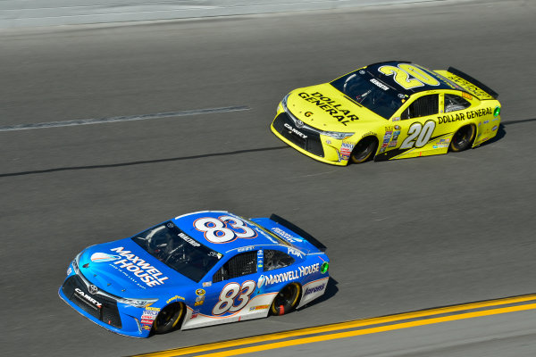 13-21 February, 2016, Daytona Beach, Florida USA Michael Waltrip, Matt Kenseth, Dollar General Toyota Camry ?2016, Logan Whitton  LAT Photo USA