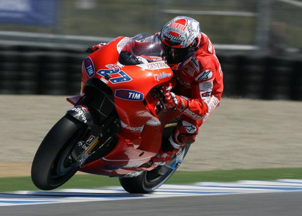 USA Laguna Seca 23-25 July 2010Casey Stoner Ducati Marlboro Team