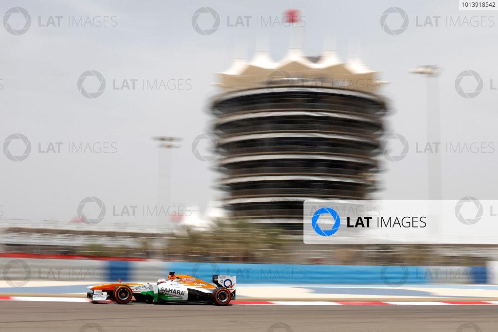 Bahrain International Circuit, Sakhir, Bahrain Friday 19th April 2013 Paul di Resta, Force India VJM06 Mercedes.  World Copyright: Andrew Ferraro/LAT Photographic ref: Digital Image _79P9408