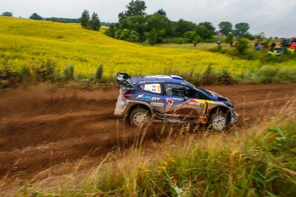 2017 FIA World Rally Championship, Round 08, Rally Poland / June 29 - July 2 2017, Sebastien Ogier, Ford, action, Worldwide Copyright: McKlein/LAT