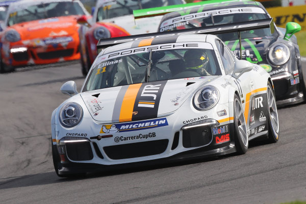 2017 Porsche Carrera Cup GB,  Snetterton. 29th-30th July 2017, Tio Ellinas - JTR World copyright. JEP/LAT Photographic