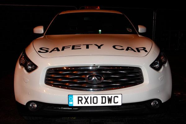 NEC, Birmingham. 16th January 2011.Nissan Infinity Safety car.World Copyright:Alastair Staley/LAT Photographicref: Digital Image _O9T2826