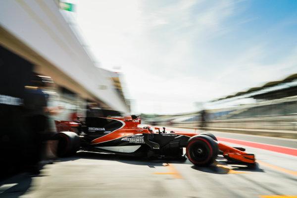 Hungaroring, Budapest, Hungary.  Wednesday 02 August 2017. Lando Norris, McLaren MCL32 Honda. World Copyright: Zak Mauger/LAT Images  ref: Digital Image _56I8611