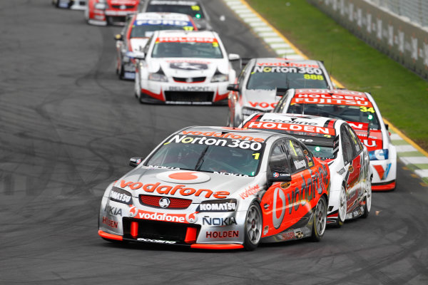 Round 4 - Hamilton 400.Hamilton City Street Circuit, Hamilton, New Zealand.17th - 18th April 2010.Car 1, Jamie Whincup, Commodore VE, Holden, T8, TeamVodafone, Triple Eight Race Engineering, Triple Eight Racing.World Copyright: Mark Horsburgh / LAT Photographicref: 1-Whincup-EV04-10-3682
