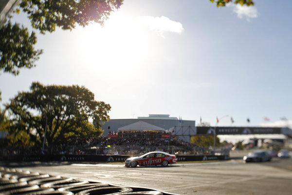 Round 4 - Hamilton 400.Hamilton City Street Circuit, Hamilton, New Zealand.17th - 18th April 2010.Car 34, Fujitsu Racing, GRM, Garry Rogers Motorsport, Holden Commodore VE, Michael Caruso.World Copyright: Mark Horsburgh / LAT Photographicref: 34-Caruso-EV04-10-6397