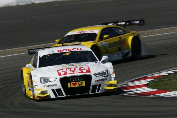 Round 6 - Nurburgring, Germany.17th August - 19th August 2012.Timo Scheider (GER) Audi Sport Team ABT Sportsline Audi A5 DTMWorld Copyright: XPB Images/LAT PhotographicRef:  2313468_HiRes