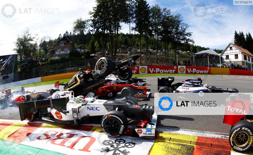 2012 Belgian Grand Prix - Sunday