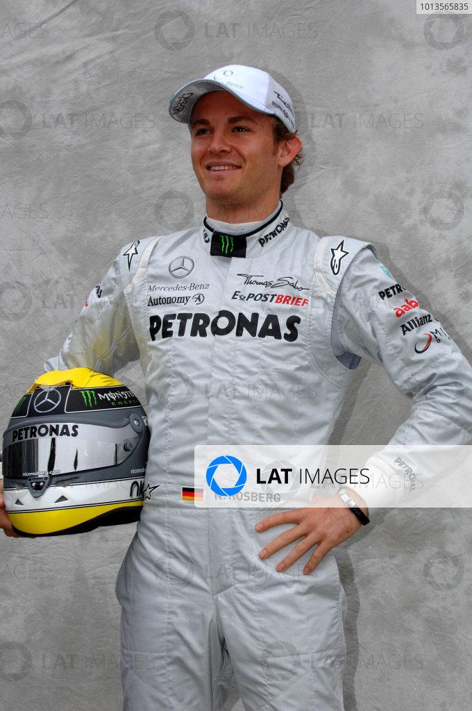 Albert Park, Melbourne, Australia24th March 2011.Nico Rosberg, Mercedes GP W02.World Copyright: John Townsend/LAT Photographicref: Digital Image JTX_7127