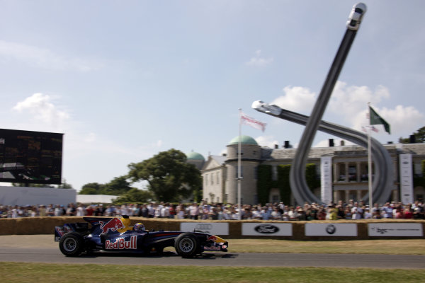 Goodwood Estate, West Sussex. 3rd - 5th July 2009. Mark Webber. World Copyright: Gary Hawkins/LAT Photographic. ref: Digital Image Only.