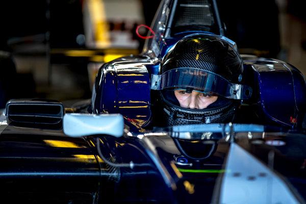 2016 GP3 Series Test 5. Yas Marina Circuit, Abu Dhabi, United Arab Emirates. Wednesday 30 November 2016. Leonardo Pulcini (ITA, Campos Racing)  Photo: Zak Mauger/GP3 Series Media Service. ref: Digital Image _X0W1820