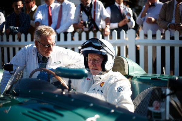 2016 Goodwood Revival Meeting. Goodwood Estate, West Sussex, England.  9th - 11th September 2016 Jack Brabham Tribute Parade John Surtees.  World Copyright: Will Elliott / LAT Photographic.  Reference: _DG27949