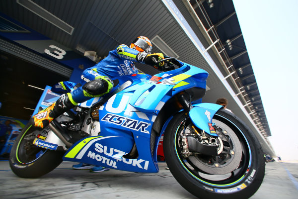 2018 MotoGP Championship - Buriram test, Thailand Saturday 17 February 2018 Alex Rins, Team Suzuki MotoGP with new fairing World Copyright: Gold and Goose / LAT Images ref: Digital Image 710285