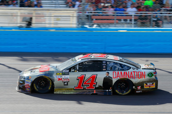 Monster Energy NASCAR Cup Series Can-Am 500 Phoenix Raceway, Avondale, AZ USA Sunday 12 November 2017 Clint Bowyer, Stewart-Haas Racing, USA Network Damnation Ford Fusion World Copyright: Russell LaBounty LAT Images