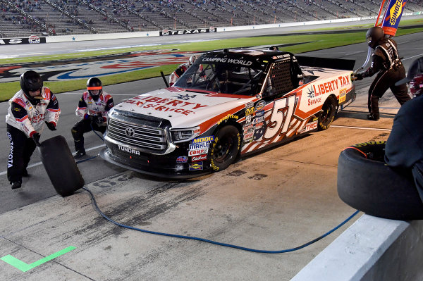 NASCAR Camping World Truck Series JAG Metals 350 Texas Motor Speedway Fort Worth, TX USA Saturday 4 November 2017 Myatt Snider, Liberty Tax Service Toyota Tundra World Copyright: Rusty Jarrett LAT Images