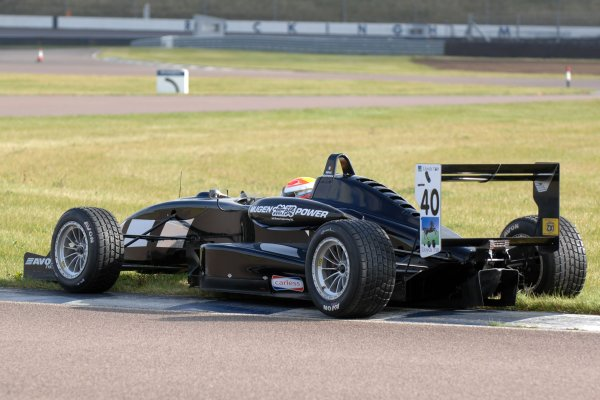 2007 British Formula Three Championship.Rockingham, England 29th and 30th September 2007.Mihai Marineschu (ROM) World Copyright: Jakob Ebrey/LAT