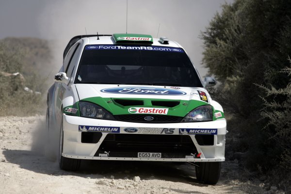 2005 World Rally ChampionshipCyprus Rally, Limassol, Cyprus. 13th - 15th May 2005.Toni Gardemeister (Ford Focus RS WRC 04), action.World Copyright: McKlein/LAT Photographicref: Digital Image