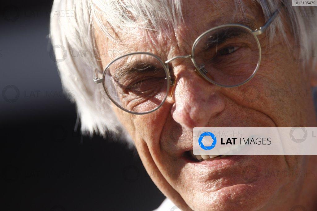 2007 Turkish Grand Prix - Friday PracticeIstanbul Motor Park, Istanbul, Turkey.24th August 2007.Bernie Ecclestone. Portrait. World Copyright: Andrew Ferraro/LAT Photographicref: Digital Image _H0Y5038