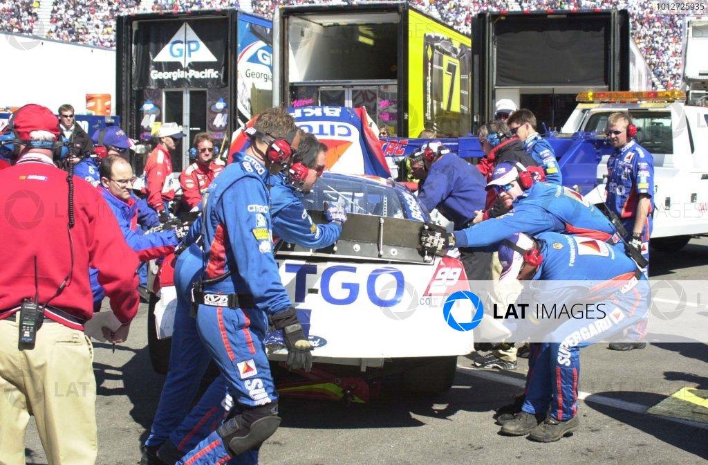 2001,NASCAR, Bristol,Tn.Winston Cup, USA, March 24-25, 2001