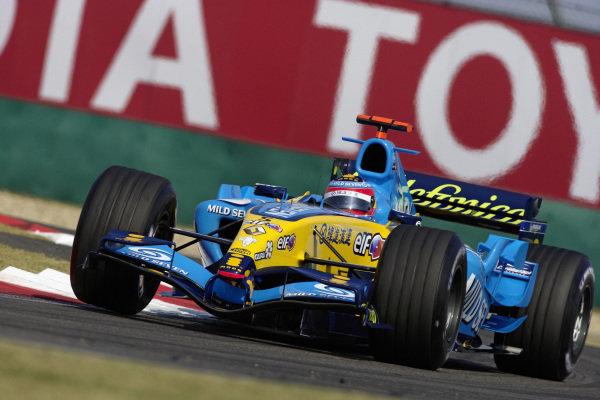 Fernando Alonso, Renault R25.