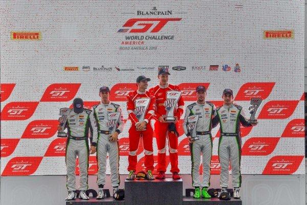 #61 Ferrari 488 GT3 of Daniel Serra and Toni Vilander with R. Ferri Motorsport  Alvaro Parente and Andy Soucek  Rodrigo Baptista  and Maxime Soulet