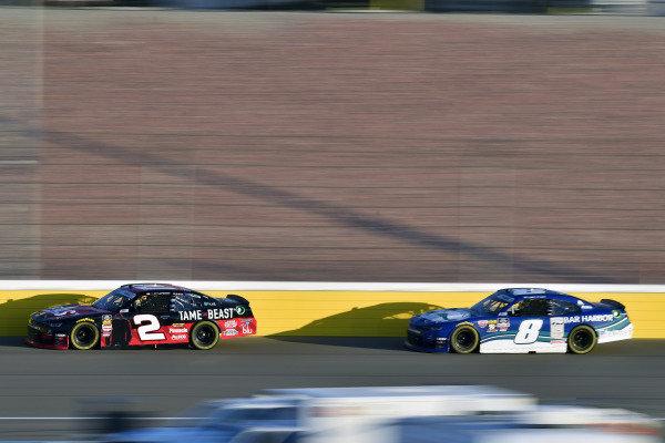 #2: Tyler Reddick, Richard Childress Racing, Chevrolet Camaro TAME the BEAST and #8: Ryan Truex, JR Motorsports, Chevrolet Camaro Bar Harbor
