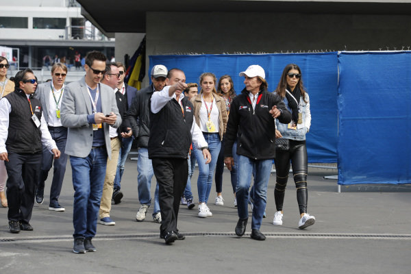 Emerson Fittipaldi (BRA) at Formula 4 Series, Circuit Hermanos Rodriguez, Mexico City, Mexico, 30 October 2016.