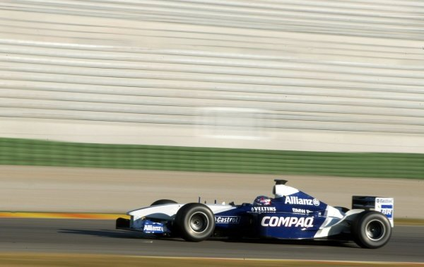 Juan Pablo Montoya (COL) Williams FW24.