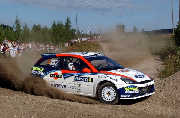 Carlos Sainz (ESP) Ford Focus RS WRC.