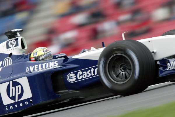 2002 German Grand Prix - Practice
