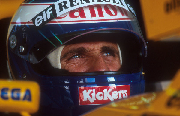 1993 French Grand Prix.Magny-Cours, France.2-4 July 1993.Alain Prost (Williams Renault) 1st position.Ref-93 FRA 02.World Copyright - LAT Photographic