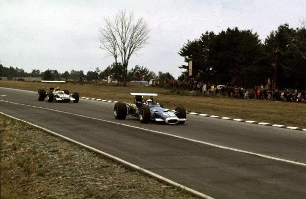 1968 United States Grand Prix.Watkins Glen, New York, USA.4-6 October 1968.Jean-Pierre Beltoise (Matra MS11).Ref-68 USA 58.World Copyright - LAT Photographic