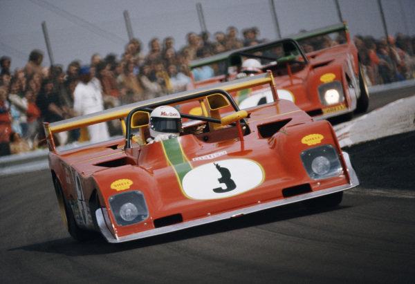 Brian Redman / Jacky Ickx, Spa Ferrari SEFAC, Ferrari 312PB.